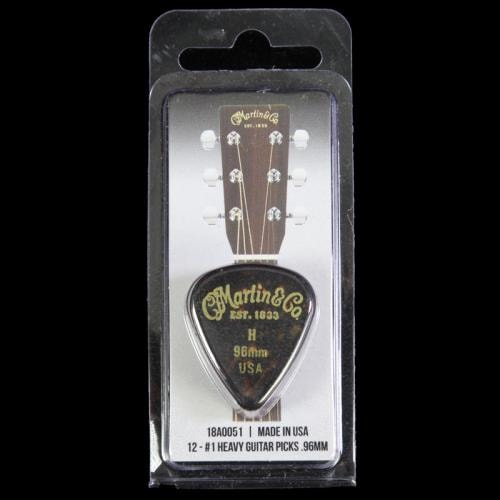 Martin Guitar Pick Pack (.96mm - Faux Tortoiseshell)