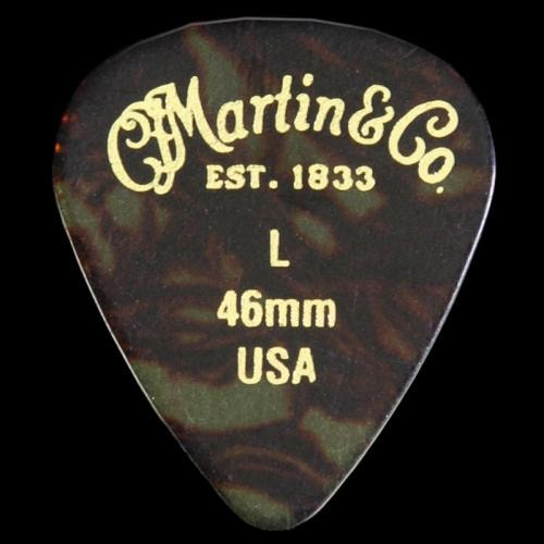 Martin Guitar Pick Pack (.46mm - Faux Tortoiseshell)
