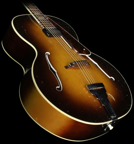 Recording King Used 1930s Recording King Archtop Guitar Sunburst