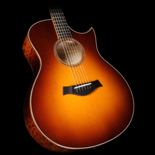 Taylor Custom Shop BTO Grand Symphony Quilt Maple Acoustic-Electric Guitar Desert Sunburst