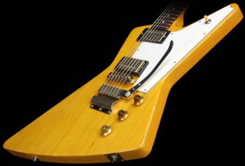 Gibson Used 2003 Gibson Custom Shop Allen Collins Explorer Murphy Aged Electric Guitar Natural