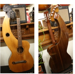 DYER Larson Brothers Harp Guitar, Style 4