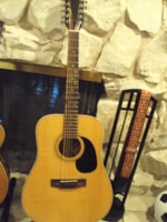 1970 HOFNER 12 String Acoustic Guitar