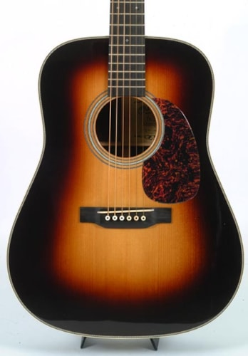 2016 Martin D-28 MARQUIS WITH SUNBURST TOP & CASE