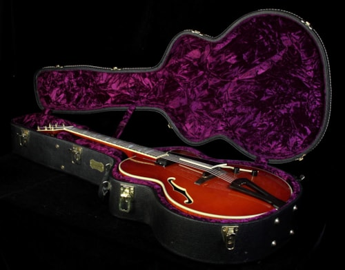 "Andersen Used 2000 Andersen Custom 17"" Archtop Electric Guitar Violin Burst"