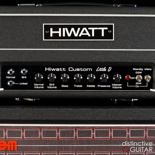 Hiwatt Little D Signature Rig