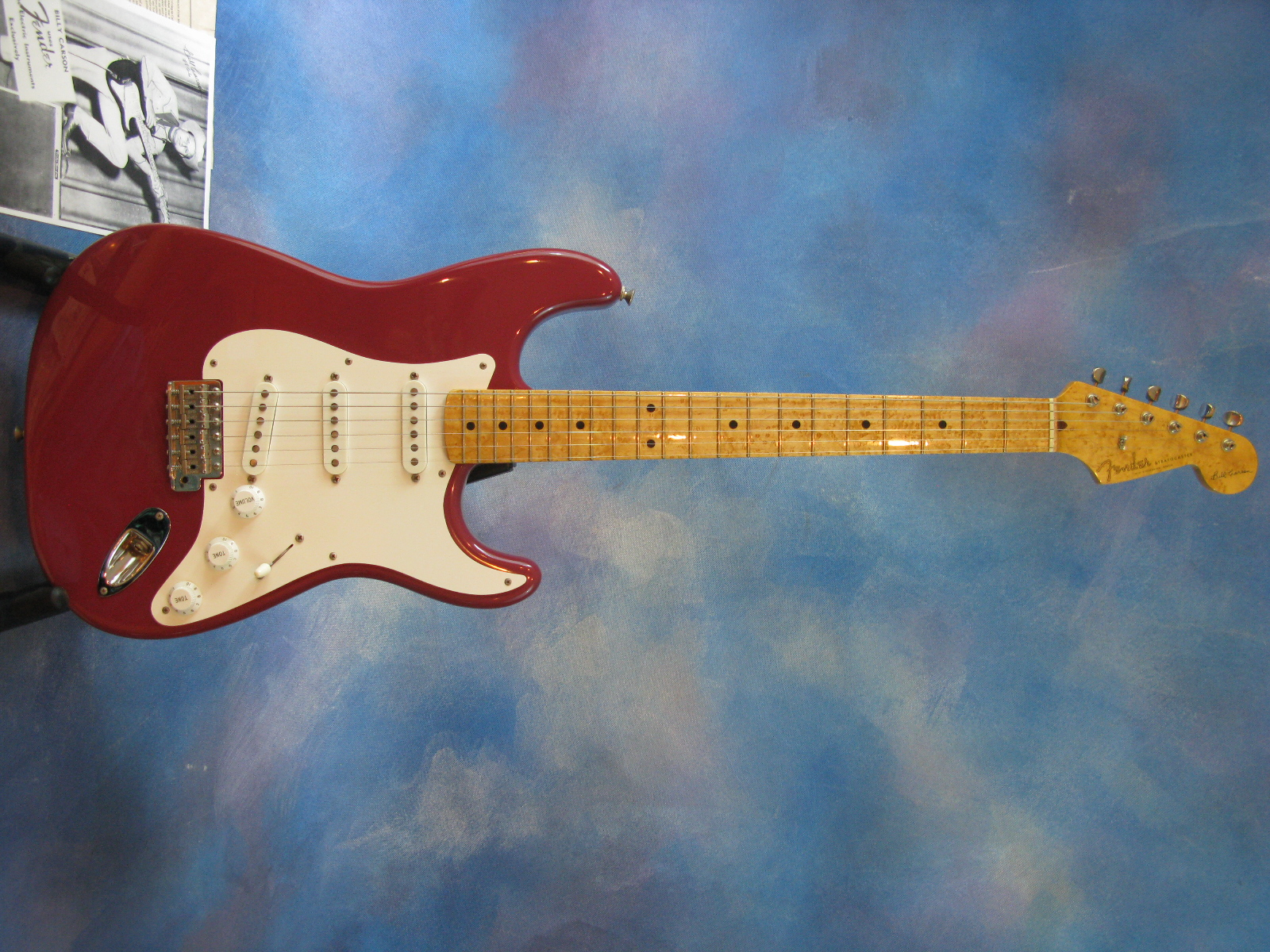 gear fender stratocaster  red