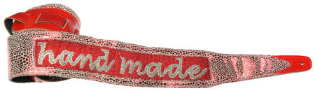 Jodi Head Guitar Wear CUSTOM HANDBEAD NAME STRAP
