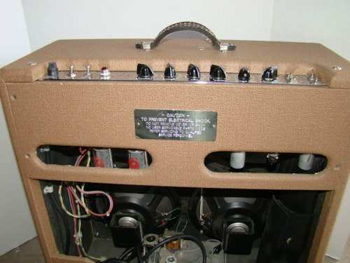 Holland Gibb Droll (4 X 10 with Reverb)