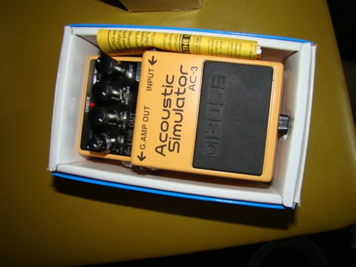 Boss Acoustic Guitar Simulator Pedal