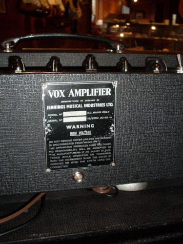 1964 Vox AC30 Super Twin