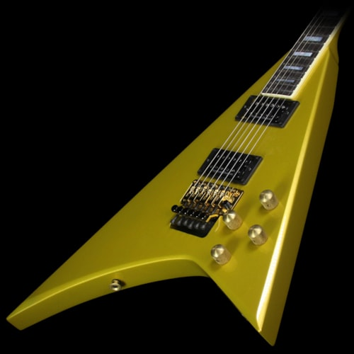 Jackson Custom Shop Music Zoo Exclusive Randy Rhoads RR 1.5 Electric Guitar Gold