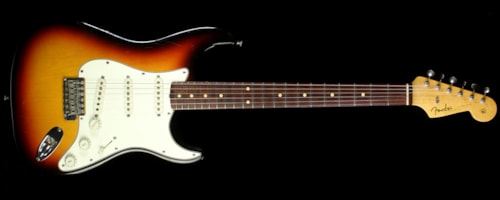 Fender Custom Shop Used 2006 Fender Custom Shop '60 Stratocaster Closet Classic Electric Guitar 3-Tone Sunburst