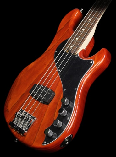 Fender Used Fender American Deluxe Dimension Bass Electric Bass Guitar Cayenne