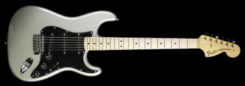 Fender Custom Shop Used Fender Custom Shop Heavy Relic 70s Stratocaster Electric Guitar Inca Silver