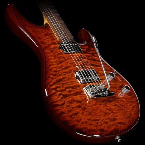 ERNIE BALL MUSIC MAN Luke III Ball Family Reserve Electric Guitar Hazel Burst