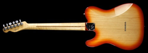 Fender Custom Shop Used Fender Custom Shop Custom Deluxe Telecaster Electric Guitar Sienna Sunburst