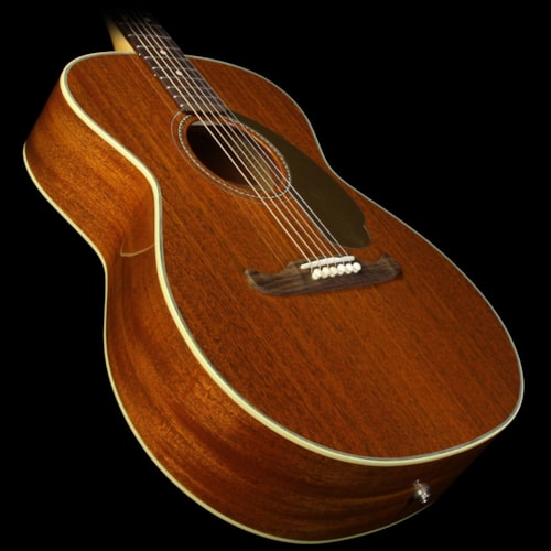 Fender Used Fender Newporter USA Selected Limited All-Mahogany Acoustic-Electric Guitar