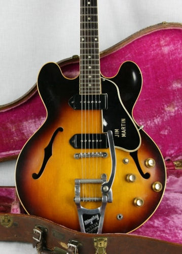 1960 Gibson ES-330TD w/ Original Brown Case
