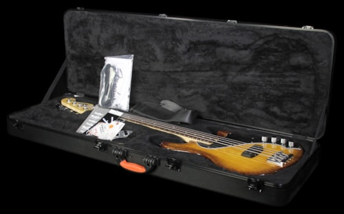 Fender Used Fender American Deluxe Dimension Bass Electric Bass Guitar Violin Burst