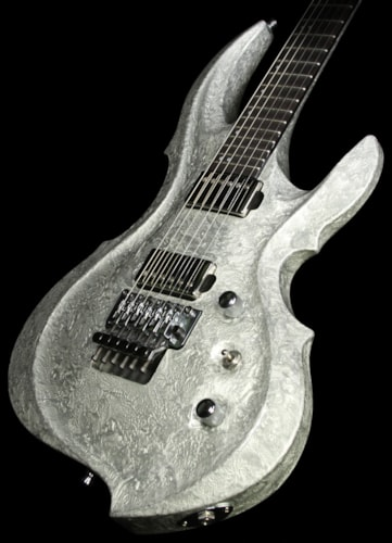 ESP Used ESP FRX Limited Edition Electric Guitar Liquid Metal Silver