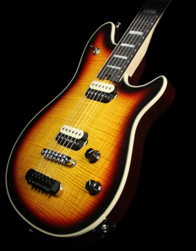 EVH Used EVH USA Wolfgang Hardtail AA Top Electric Guitar Three-Tone Sunburst