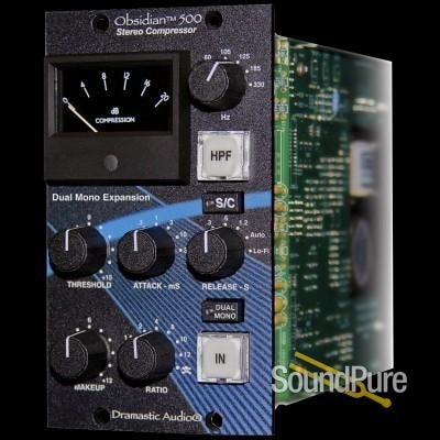 Dramastic Audio Dramastic Audio Obsidian 500 Stereo Compressor in 500-Series