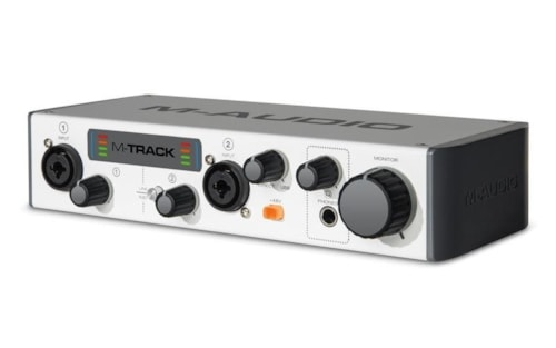 M-Audio M-Track II Two-Channel USB Audio Interface
