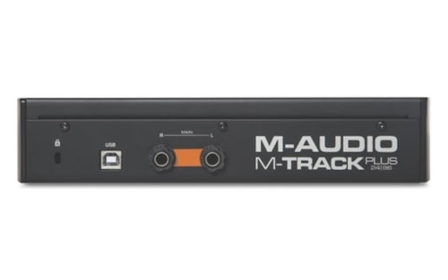 M-Audio M-Track Plus II Two-Channel USB 2.0 Audio Interface with 24-