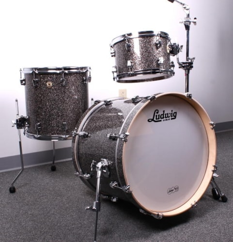 2015 Ludwig Keystone Upbeat 3 Piece Shell Pack (Made in th