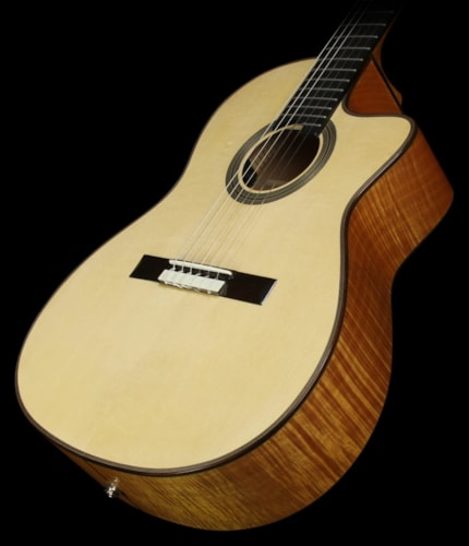 cordoba used cordoba fusion 14 maple acoustic electric nylon string acoustic guitar natural. Black Bedroom Furniture Sets. Home Design Ideas