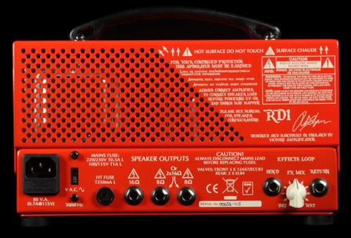 Victory Used Victory Amplification RD1 Red Dwarf Rob Chapman Signature Electric Guitar Amplifier Head