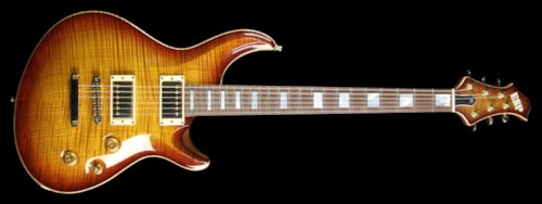 ESP Used ESP Limited Edition Amorous Mystique Electric Guitar Tea Sunburst