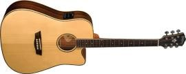 2015 Washburn WD25SCE Dreadnought Cutaway Acoustic/Electric