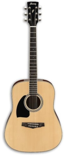 2015 Ibanez PF15L Acoustic Left-Handed