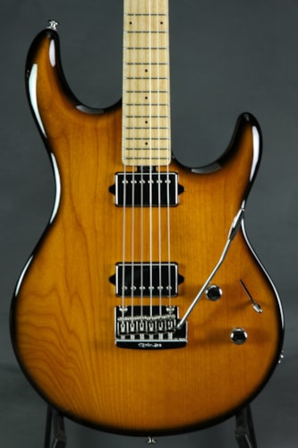 ERNIE BALL MUSIC MAN Premier Dealer Network Luke 3 HH - Vintage Tobacco Burst