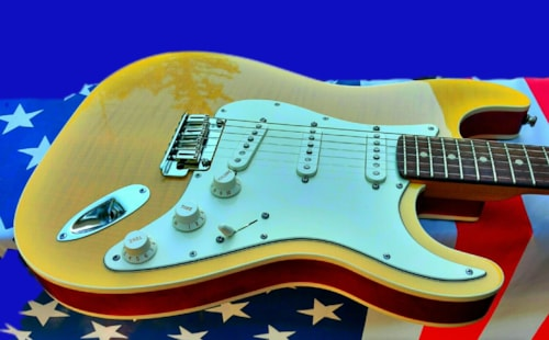 2014 Fender Custom Shop Stratocaster® Slab Body