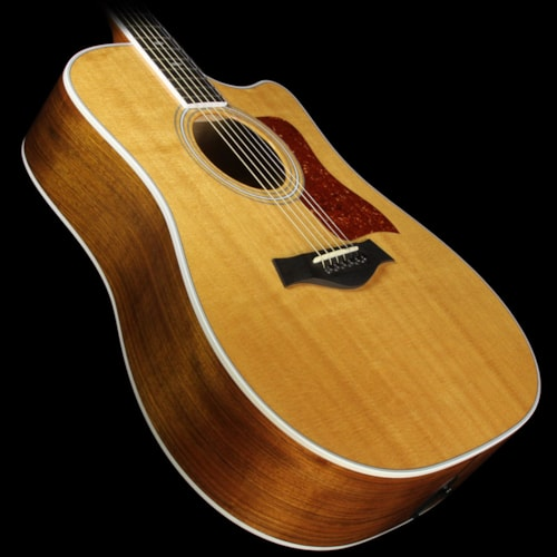 Taylor Used 2012 Taylor 410ce Dreadnought Acoustic-Electric Guitar Natural