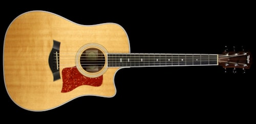 2012 Taylor Used 2012 Taylor 410ce Dreadnought Acoustic-Electric Guitar Natural