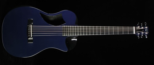 Journey Instruments OF660 Carbon Fiber Acoustic-Electric Guitar Navy Blue