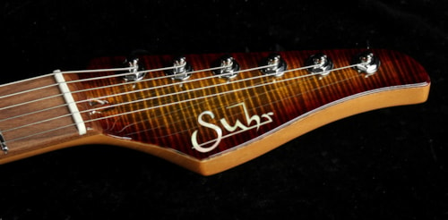 Suhr Used 2015 Suhr Modern Flame Maple Electric Guitar Light Bengal Burst