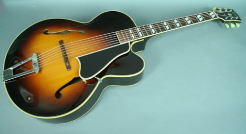 1949 Gibson L-7C Sunburst Archtop Acoustic Hollowbody Guitar w/HSC
