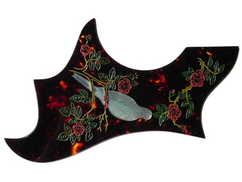 2017 Madura Guitar Dove Replacement Pickguard