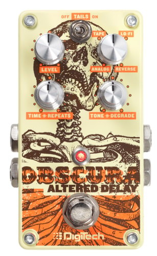 2017 DIGITECH OBSCURA ALTERED DELAY PEDAL