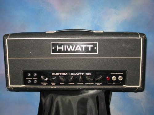1973 Hiwatt DR 504 with Flight Case