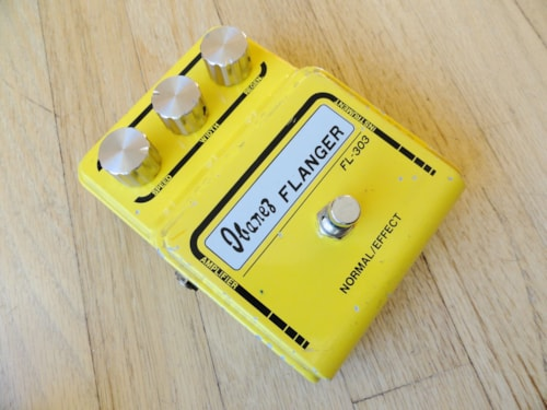 1977 Ibanez FL-303 Flanger Electric Guitar Pedal Wide Box Block Logo