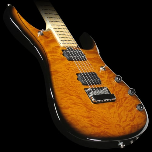 ERNIE BALL MUSIC MAN Ball Family Reserve John Petrucci JP6 Electric Guitar Vintage Tobacco