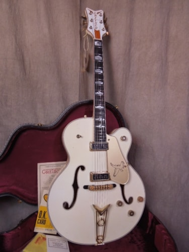 2015 Gretsch Custom Shop Relic® 1955 White Falcon