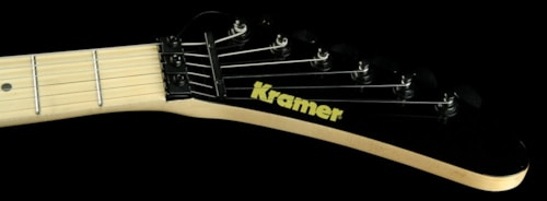 KRAMER  Used Kramer '84 Baretta Electric Guitar Black With Red Bullseye
