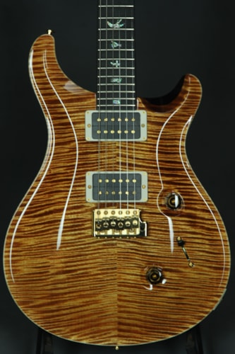 Paul Reed Smith (PRS) Custom 24 Artist Package - Yellow Tiger/Dark Back